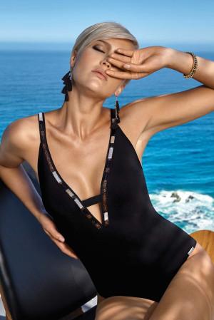 Dámské jednodílné plavky 8991/813/ - Maryan Mehlhorn černá