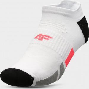 Pánské kotníkové ponožky 4F SOM207 Bílé 2 39-42
