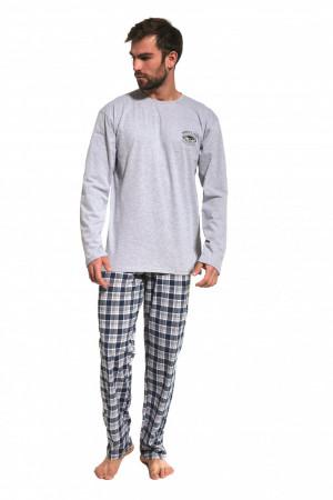 Pánské pyžamo 124/164 yukon melanž