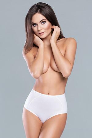 Kalhotky Italian Fashion Jana maxi bílá 2xl