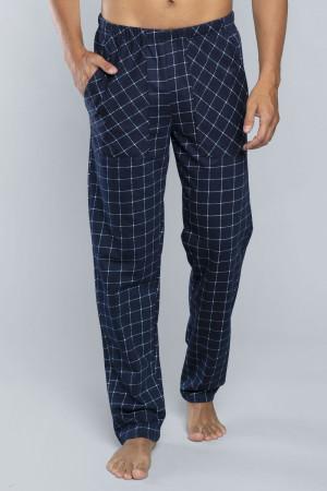 Pánské pyžamové kalhoty Italian Fashion Blažej tmavomodrá 2xl