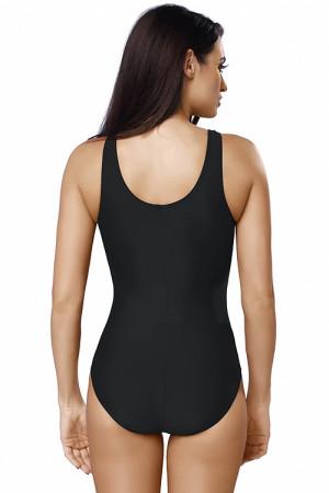 Sportovní jednodílné plavky gWINNER Liana černo-červená