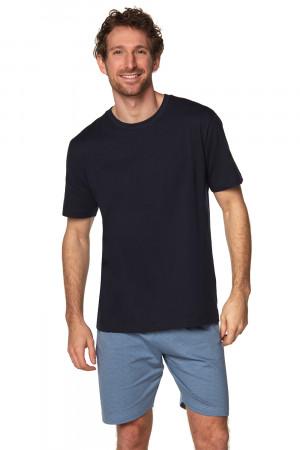 Pánské pyžamo Rossli SAM-PY-185 tmavě modrá l
