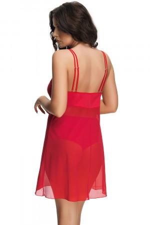 Dámská košilka Gorsenia K499 Paradise červená 2xl