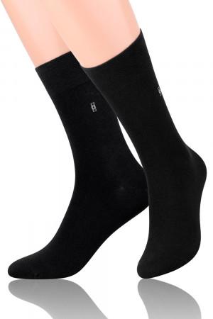 Pánské ponožky Steven 056 černá 39-41