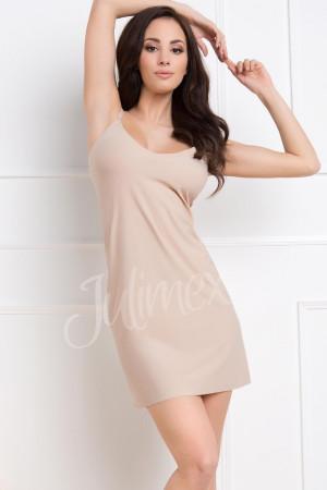 Spodnička košilka Julimex Lingerie Soft & Smooth natural 2xl