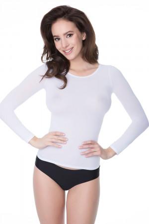 Dámská košilka Julimex Lingerie Second Skin bílá uni