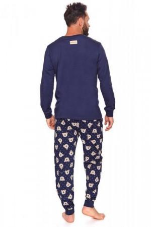 Dn-nightwear PMB.4139 Pánské pyžamo S cosmos