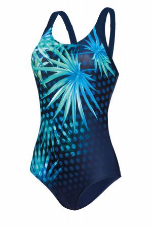 Dámské plavky Self S 35 R1 tmavě modrá