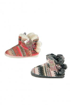 Dámské papuče RiSocks Apollo art.23999 Ladies Home Boots béžová světlá 39-40