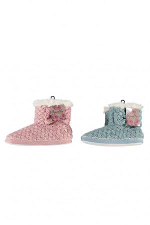 Dámské papuče RiSocks Apollo art.23999 Ladies Home Boots tyrkysová 39-40