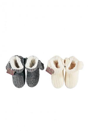 Dámské papuče RiSoks Apollo art.23999 Ladies Home Boots krémová 39-40