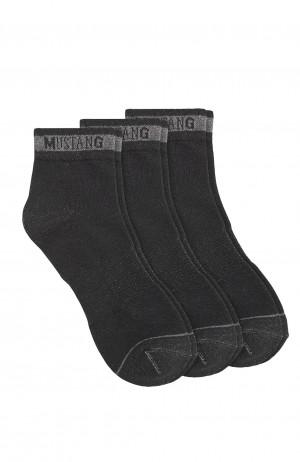 Pánské ponožky Mustang 32007 A'3 černá 39-42