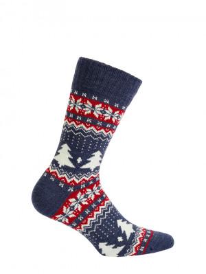 Dámské ponožky AKRYL/VLNA berber UNI