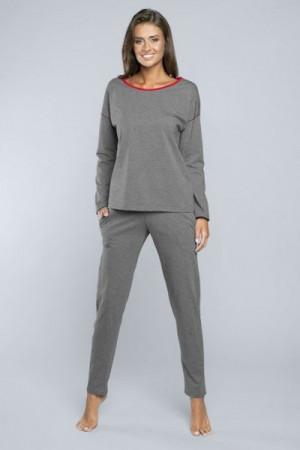 Italian Fashion Akcent dl.r. dl.k. Dámské pyžamo S melanž