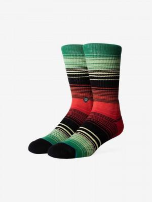 Baja Norte Ponožky Stance Zelená