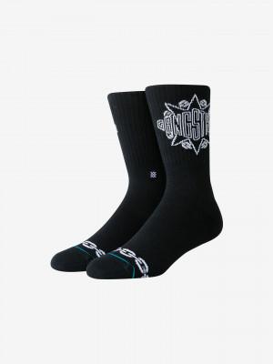 Gangstarr Ponožky Stance Černá