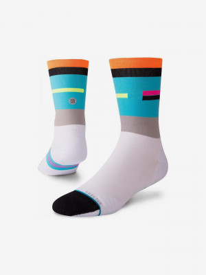 Crew Ponožky Stance Bílá