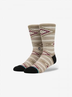Rexburg Ponožky Stance Hnědá