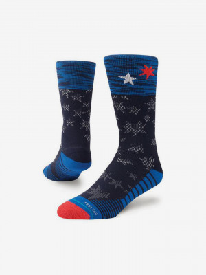 United Crew Ponožky Stance Modrá