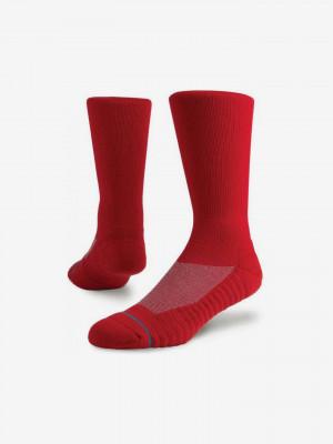 Athletic Icon Ponožky Stance Červená