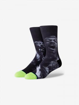 Jimi Jam Ponožky Stance Černá