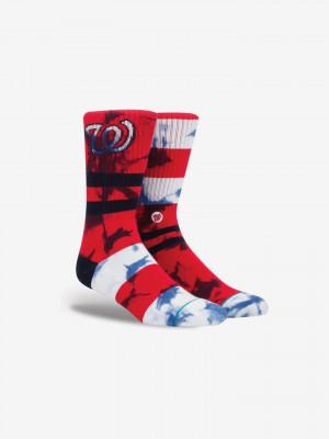 Nats Ponožky Stance Červená
