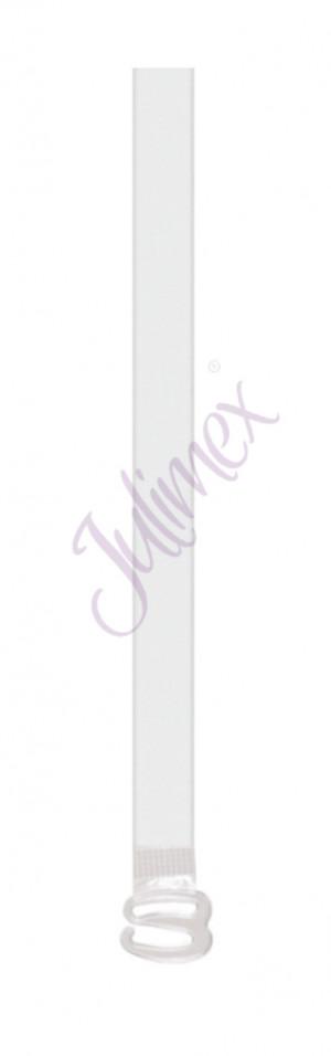 Silikonová ramínka RT 01   6 mm bezbarvá uni velikost