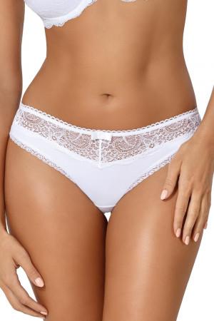 Dámské kalhotky Ava 1638/B Vicky bílá s