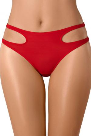 Sexy červené kalhotky Axami V-8133 červená xl