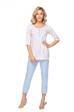 Dámské pyžamo 904 plus světle modrá