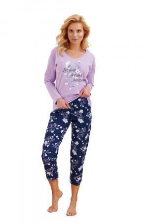 Dámské pyžamo 2469 Agnieszka violet fialová