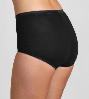 Kalhotky Sloggi Basic+ Maxi 2P černá 0004 - Triumph černá