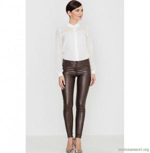 Dámské kalhoty K231 - Katrus hnědá