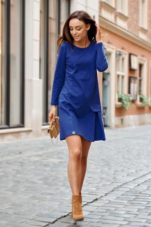 Dámské šaty L346 - Lemoniade tmavě modrá