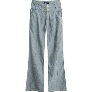 Dámské zvonové kalhoty 0112505 - LJR šedá