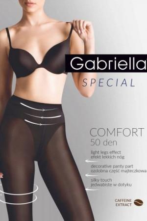 Gabriella Comfort 50 DEN code 400 Punčochové kalhoty 2-S Nero
