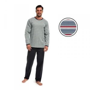 Cornette 138/16 Pánské pyžamo M proužky