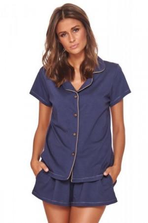 Dn-nightwear PM.4122 Dámské pyžamo S cosmos