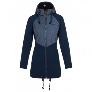 Dámský kabát Lasika-w tmavě modrá