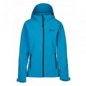 Dámská softshell bunda Elia světle modrá - Kilpi