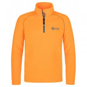 Dětská fleecová mikina Almagre-j oranžová