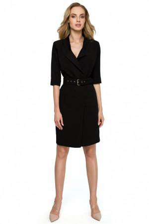 Dámské šaty S120 - Stylove černá M-38