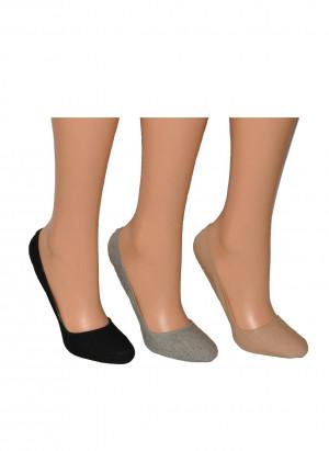 Ponožky do balerín Cushion Ballerina Art.5692228 - RiSocks bílá 36-41