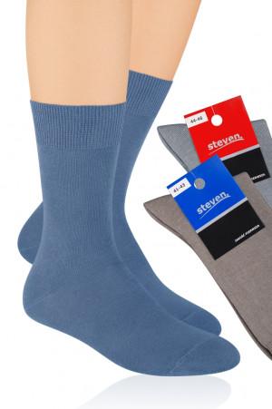 Pánské bavlněné ponožky 048 - Steven černá 38/40