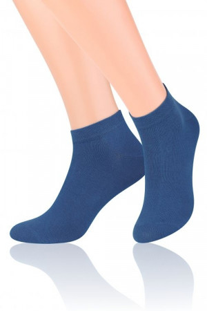 Pánské i dámské ponožky art.045 - Steven bílá 38/40