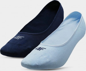 Dámské ponožky 4F SOD304 Modré Modrá 39-42