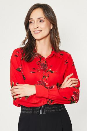 Košile s dlouhým rukávem  model 150198 Click Fashion
