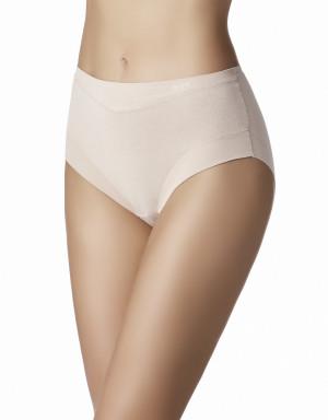 Kalhotky Slip Cotton Band 1031863 tělová - Janira tělová