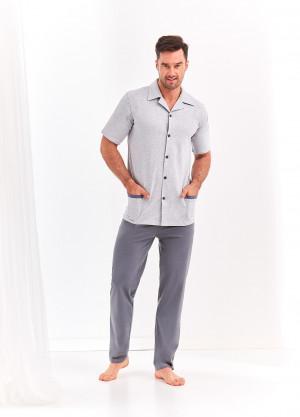 Pánské pyžamo Taro Felix 2391 kr/r 2XL-3XL  L'20 modrá